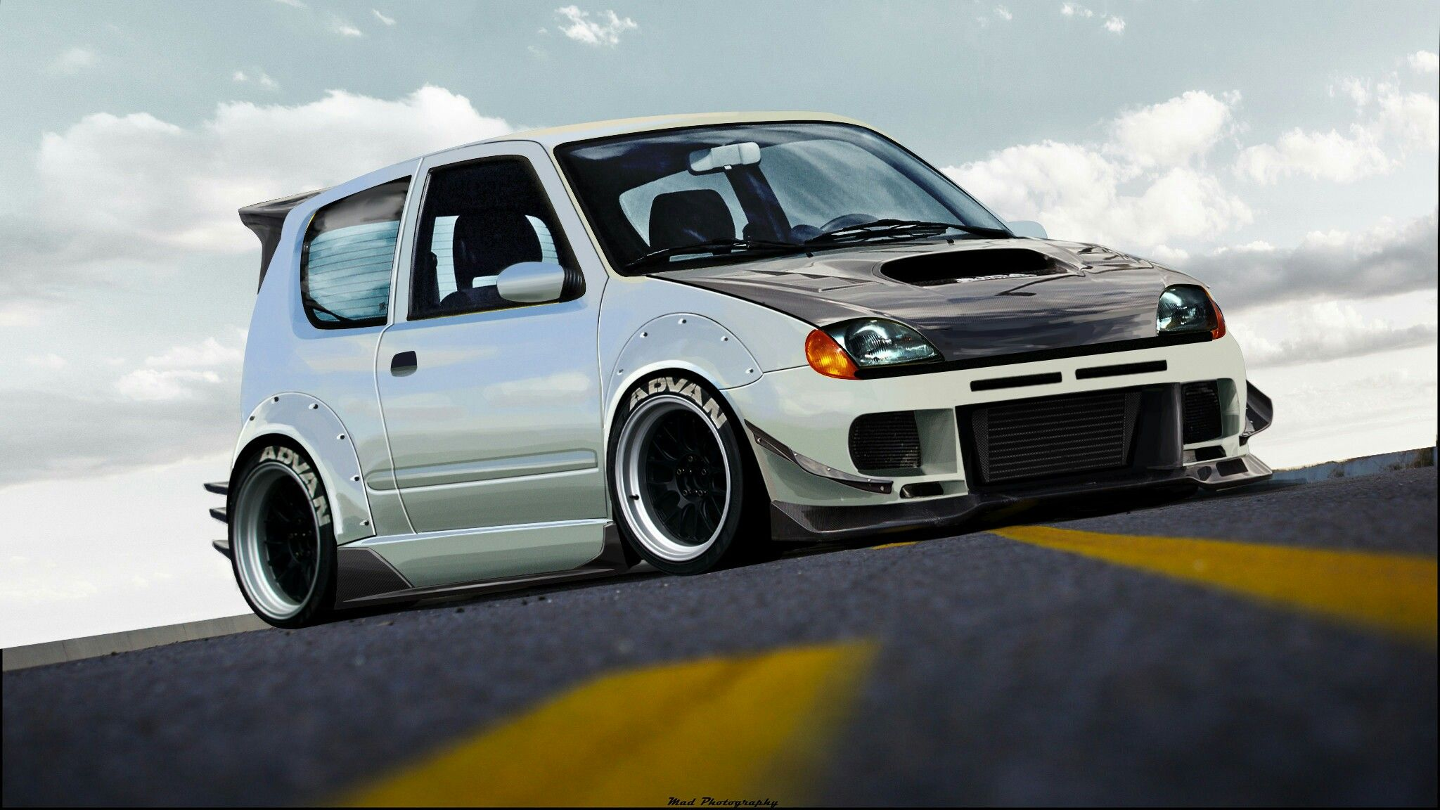 Fiat five hundredfunny carsfiat carssearchcontainerstorageyellowgreenphp fiat seicento