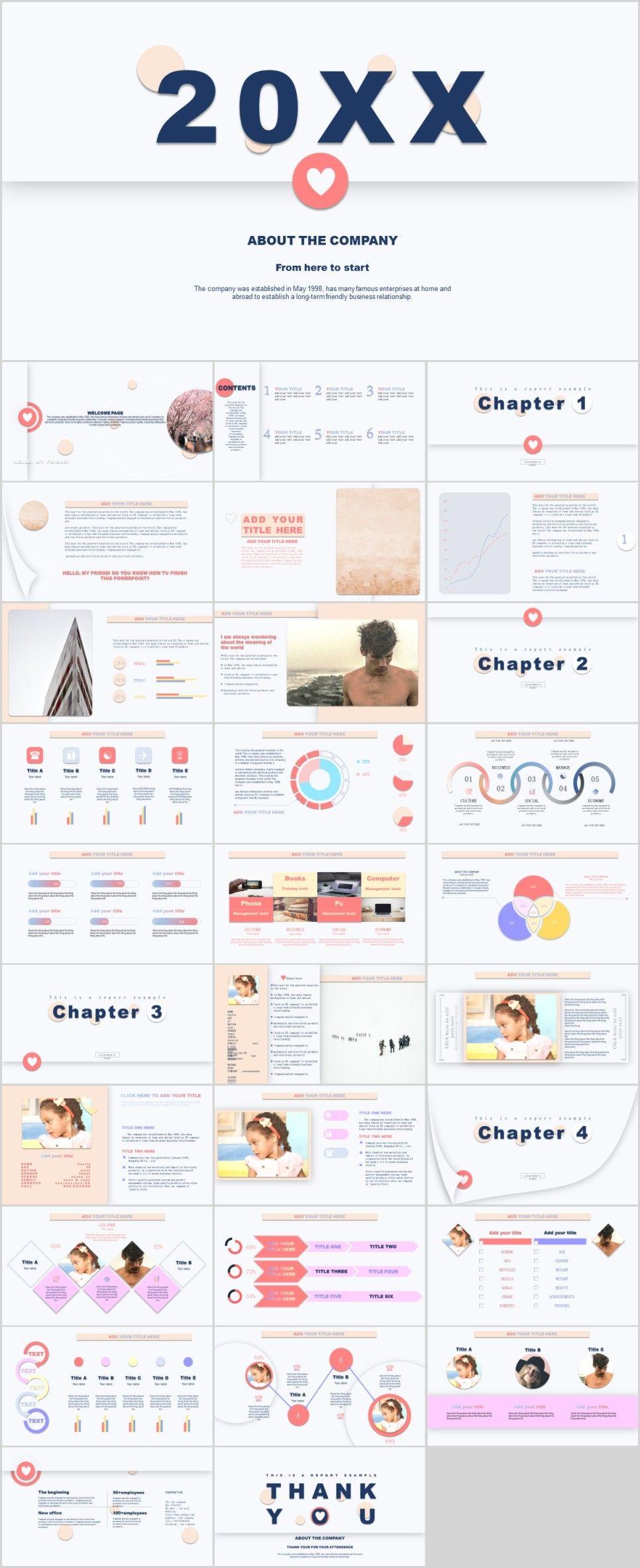 30 Company Industrial Powerpoint Template Ideias De Design