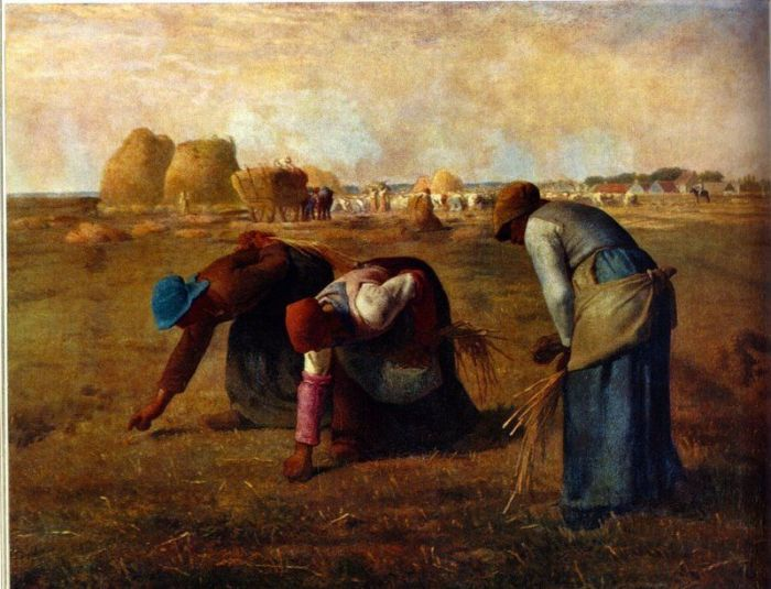 Millet The Gleaners various sizes fine art print poster