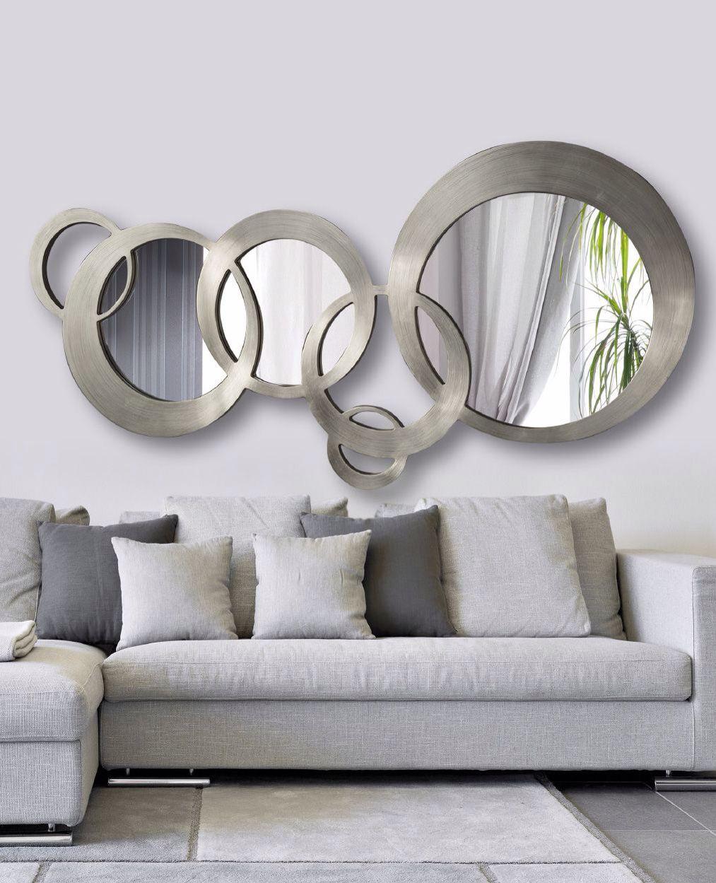 Espelho Na Decoracao Mirror Wall Living Room Living Room Mirrors Mirror Wall Decor