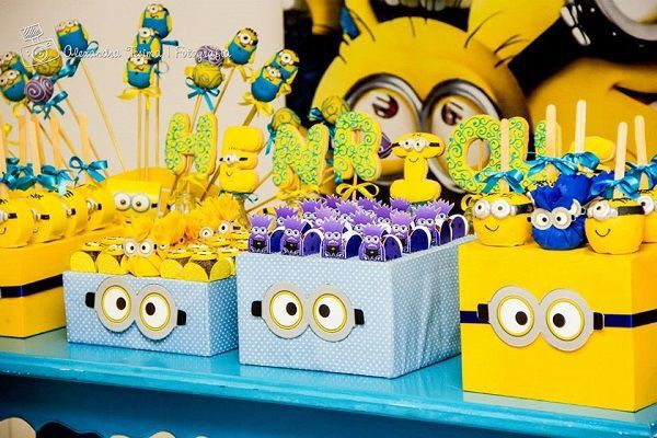 Pin By Agfl On Minions Pinterest Birthdays Birthday Party Ideas