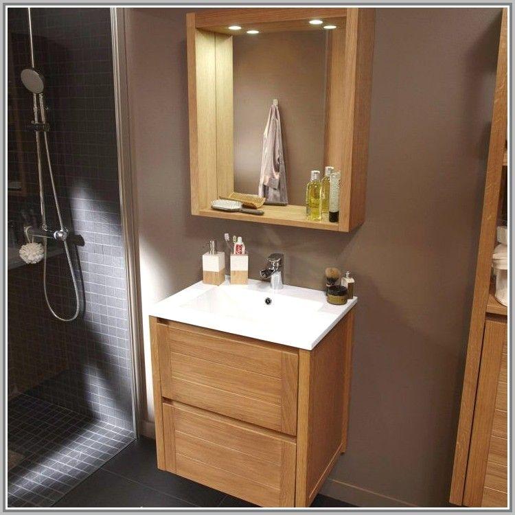 Meuble Salle De Bain Design Castorama In 2020 Bathroom Vanity Vanity Toilet Design