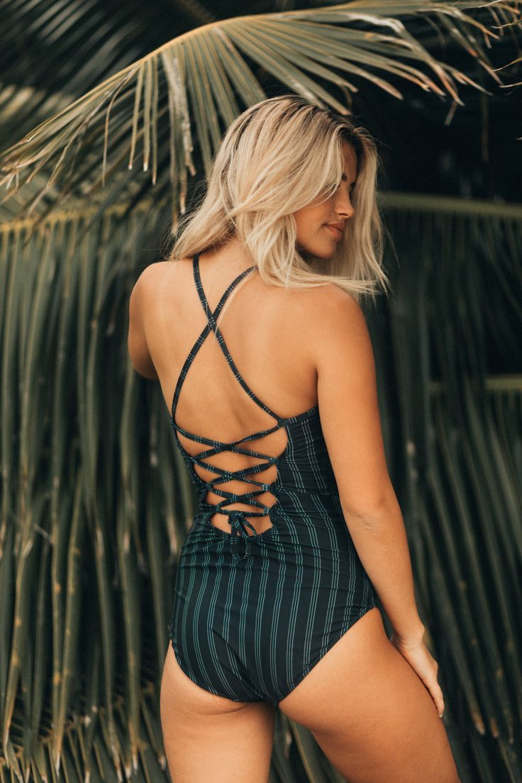 SHOP THIS BEST SELLER! Our Windward Swimsuit features an easy fit and flirty boho back ...