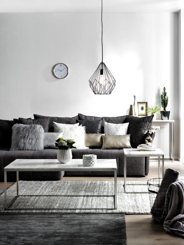 Anthrazit Grau Oder Silber Verleihen Dem Raum Nordischen Ch In 2020