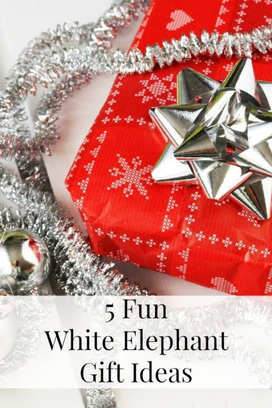 5 Fun White Elephant Gift Ideas Horns Funny And