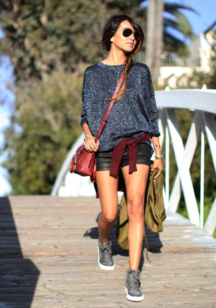 Sneakers outfit casual