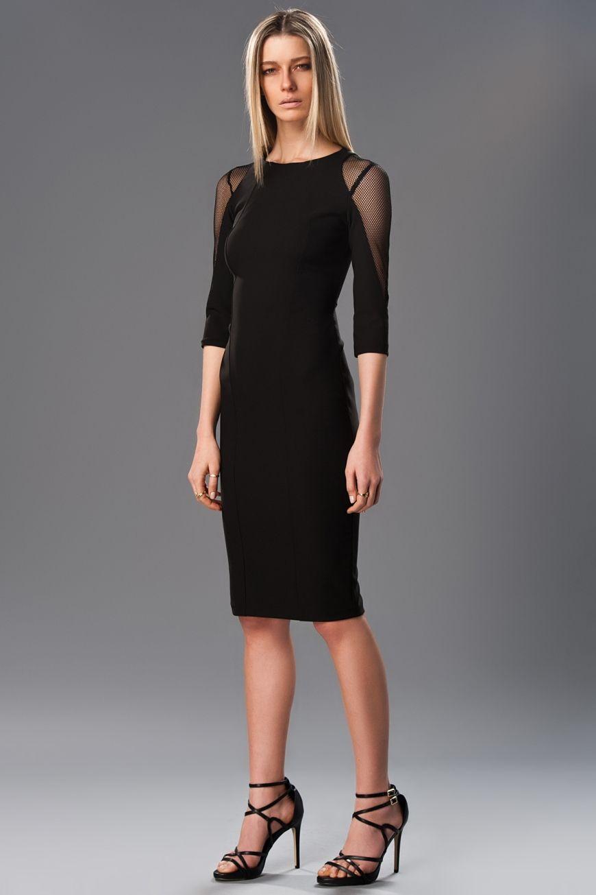 25dc32b8b0755 Milla by trendyol Siyah Elbise :: SENA SHOP | Milla by ... -