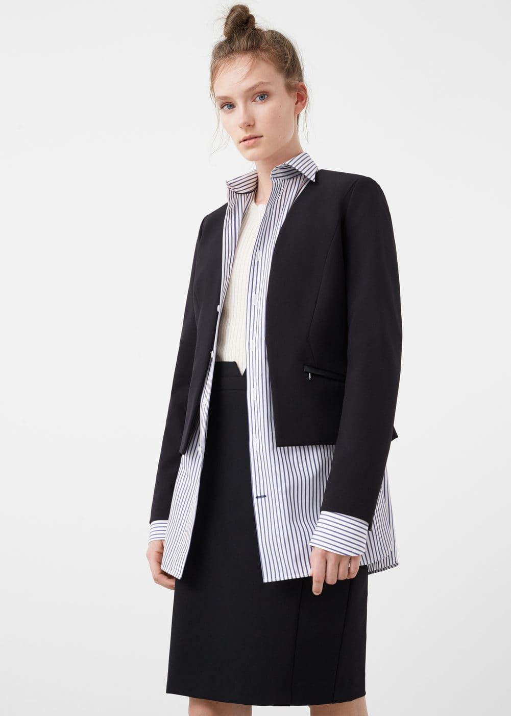 d26cd503fcde Structured jacket - Women