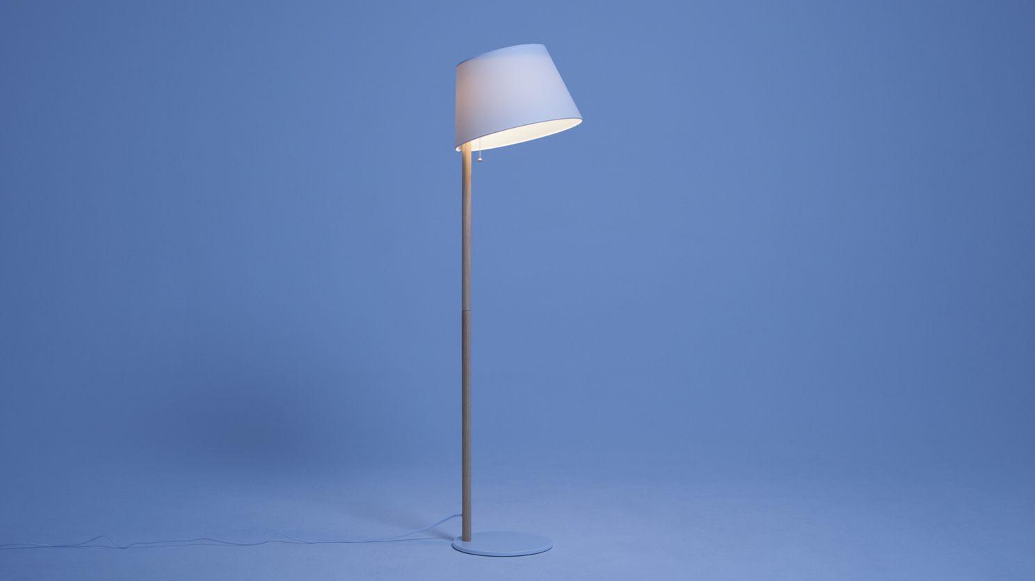 Iggy floor lamp floor lamp fabric shades bulb