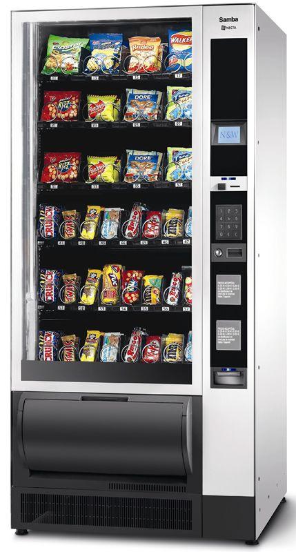 Necta Samba Snack Vending Machine | Coffee Machines in 2019
