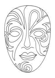 Kleurplaten Afrikaanse Maskers.Afrikaanse Maskers Google Zoeken Maskers Venetiaanse
