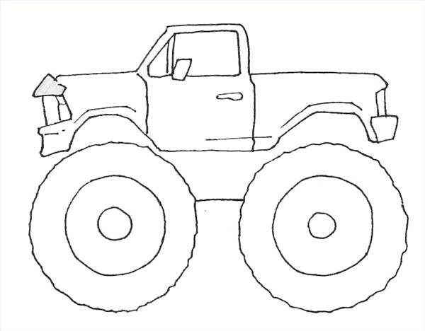 How To Draw Monster Trucks In 2019