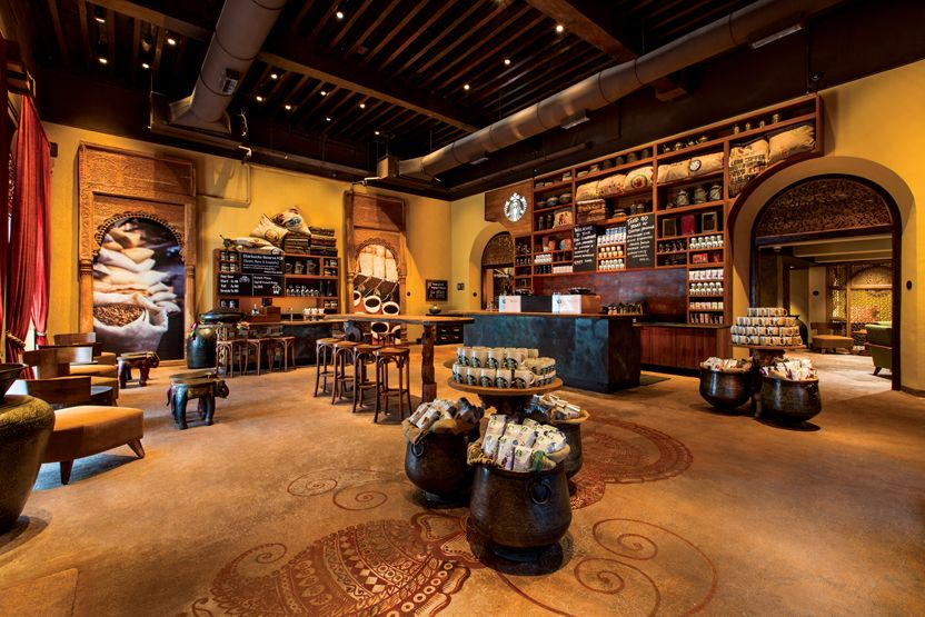 First Starbucks Store in India Opens its Doors to
