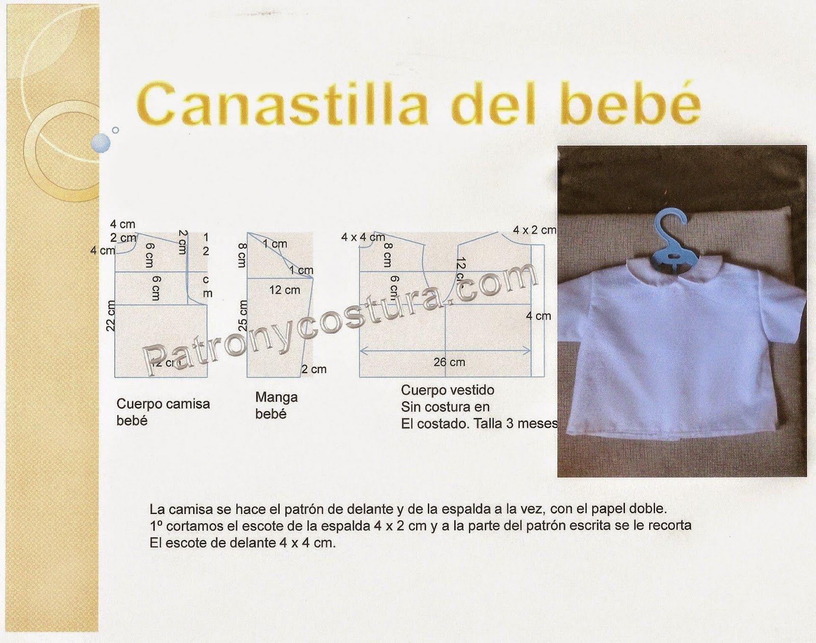 Excelente Patrones De Costura Canastilla Para Bebés Motivo - Manta ...