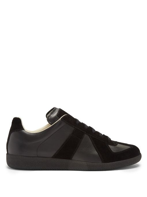 contrast-panel sneakers - Black Maison Martin Margiela Free Shipping Low Shipping Sale Lowest Price 7O8LXH