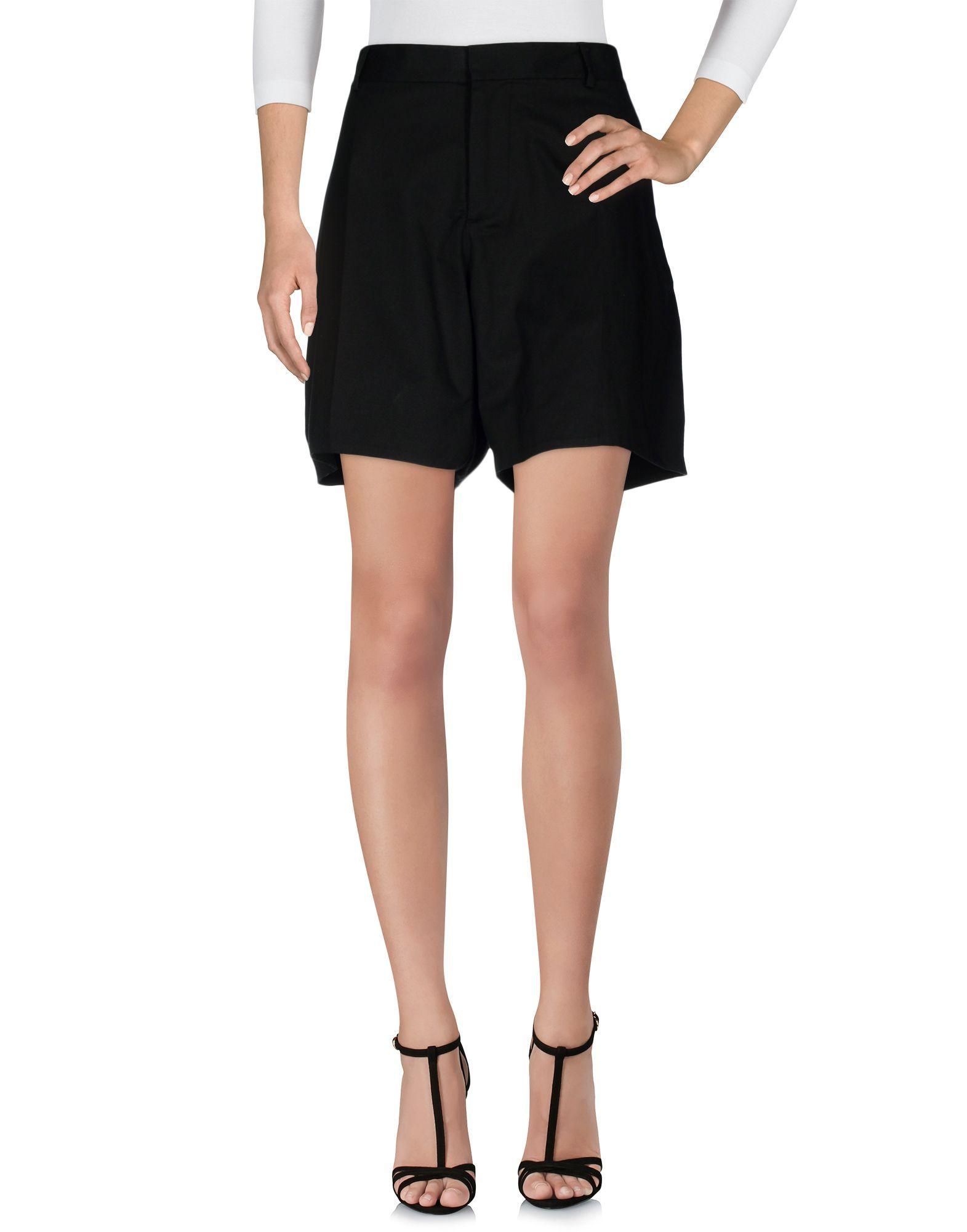 Dsquared2 Bermudas In Black Modesens Womens Shorts Vintage Shorts Womens Dress Pants [ 2000 x 1571 Pixel ]