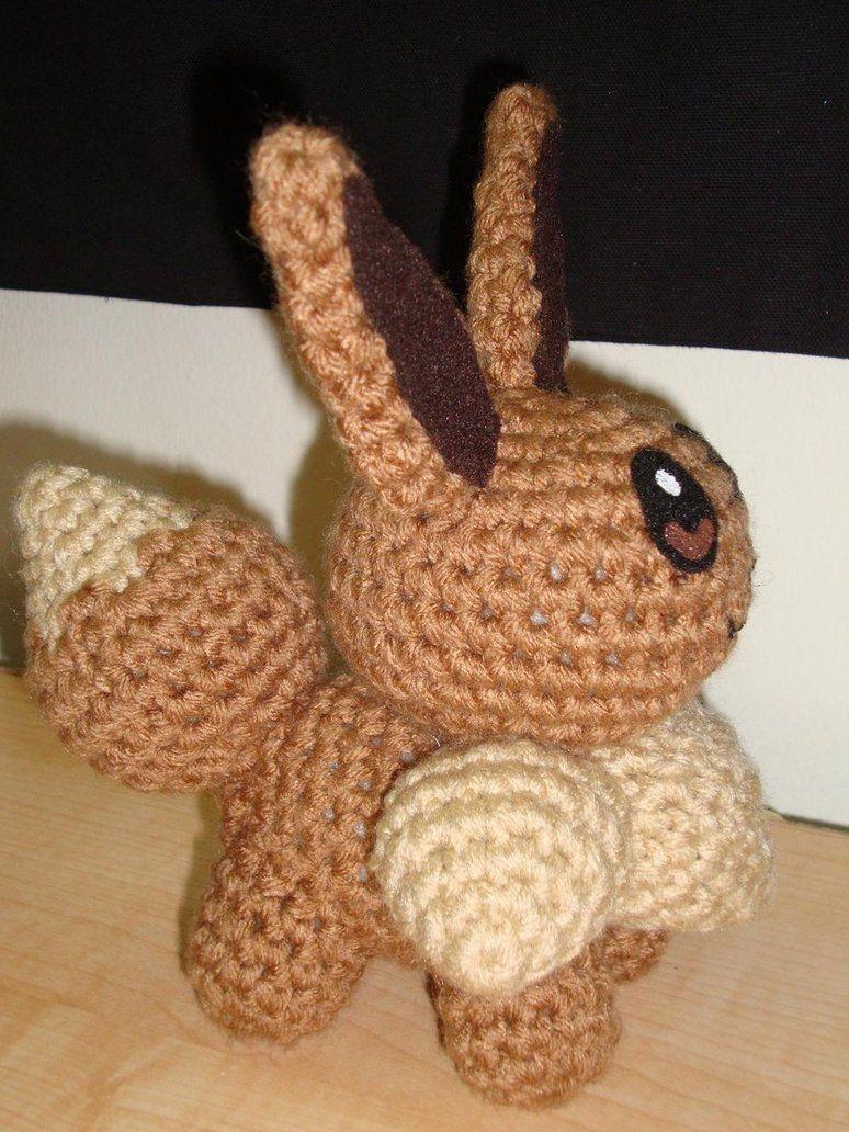 Eevee Crochet | Crafts | Pinterest