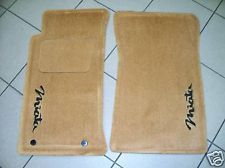 Genuine Mazda Miata Oem Tan Carpet Floor Mats With Miata Logo 1990 1997 Mazda Miata Miata Mazda
