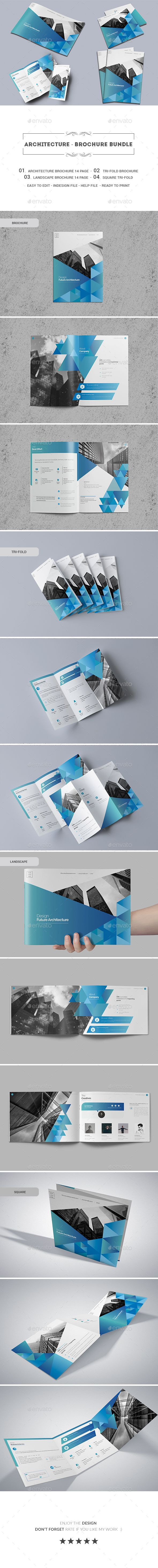 Architecture  Brochure Bundle  Brochure Template Brochures And