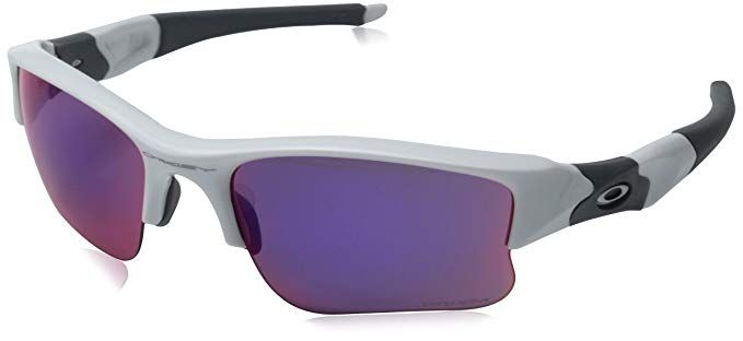 27681b9f36 Oakley Men s Flak Jacket XLJ OO9009 Iridium Rectangular Sunglasses Review