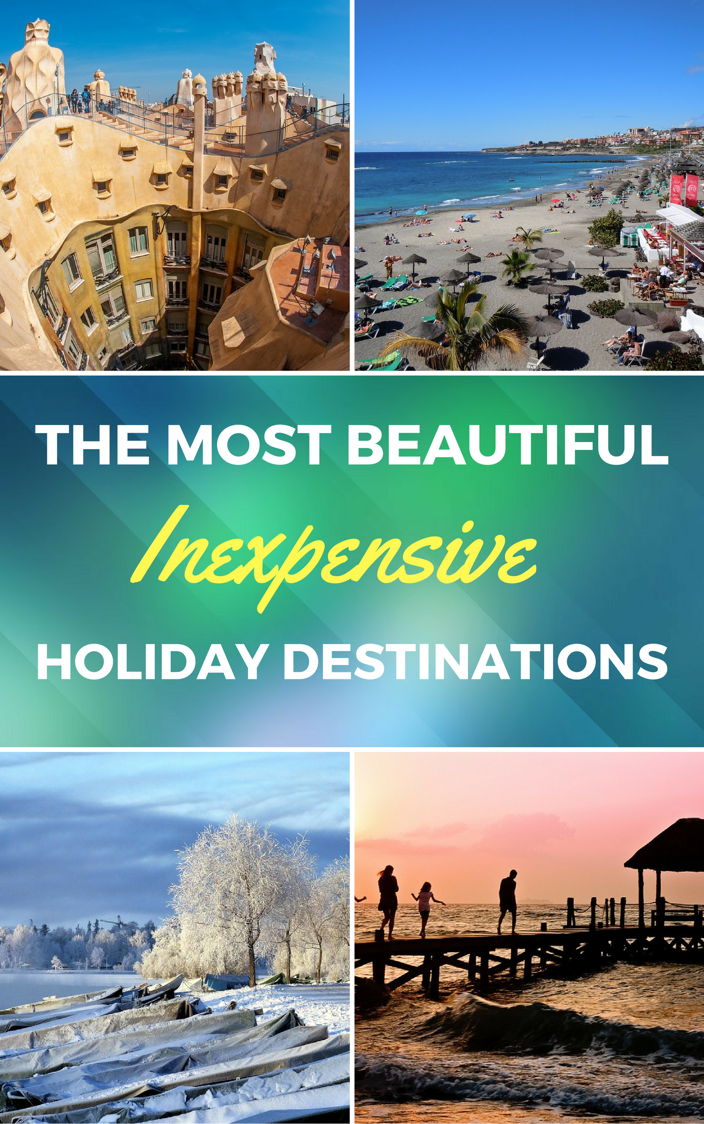 cheap places to travel internationally - the most beautiful, yet