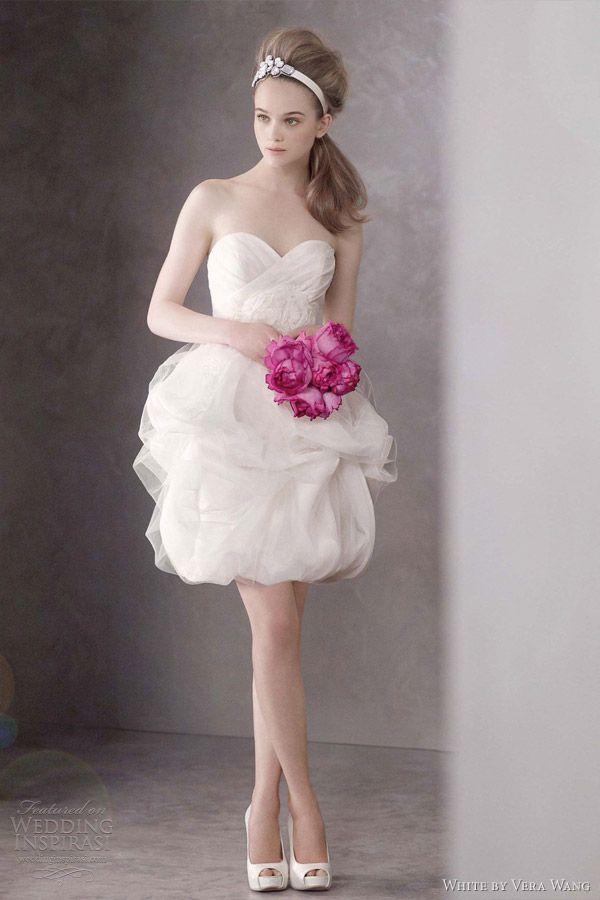 White by Vera Wang Spring 2012 Wedding Dresses | Wedding Inspirasi