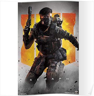 Seraph Bo4 Poster By Gadelhas Black Ops 4 Keys Art Black Ops