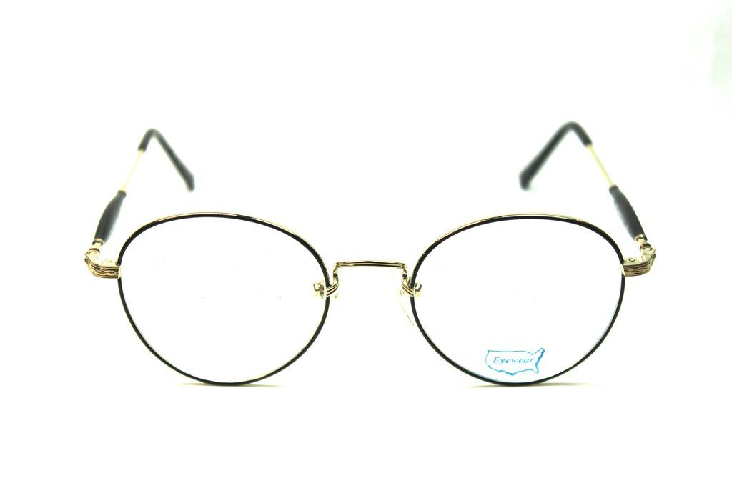 John Lennon Glasses - Gold/Black (50mm) Eyeglasses | John lennon ...