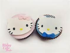Hello Kitty Cupcake Coloring Pages : Viewing gallery for hello kitty and dear daniel coloring pages