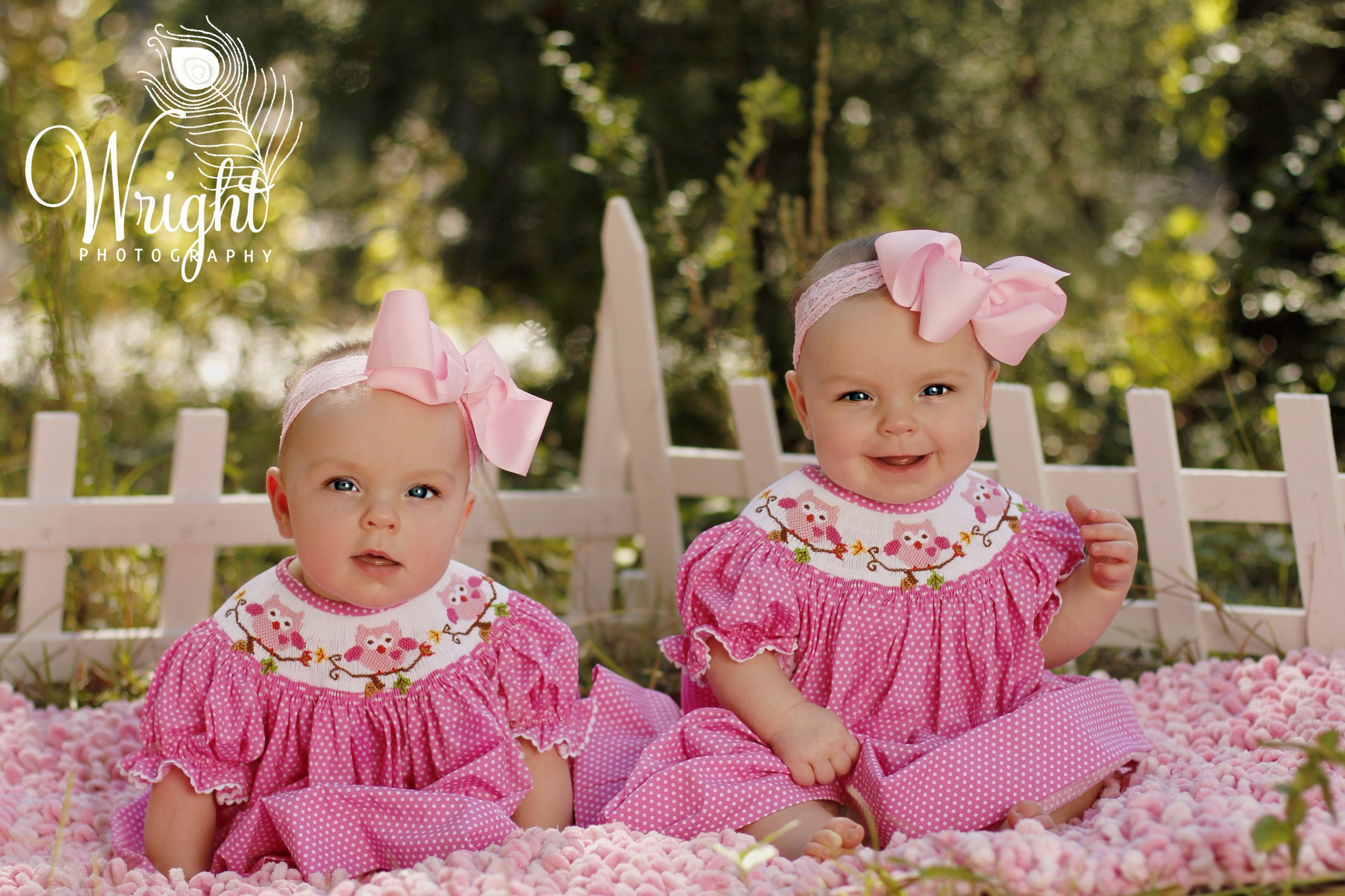 Twin girls. Photo by Wright Photography in Anderson SC.  https://www.facebook.com/pages/Wright-Photography/155481467881207