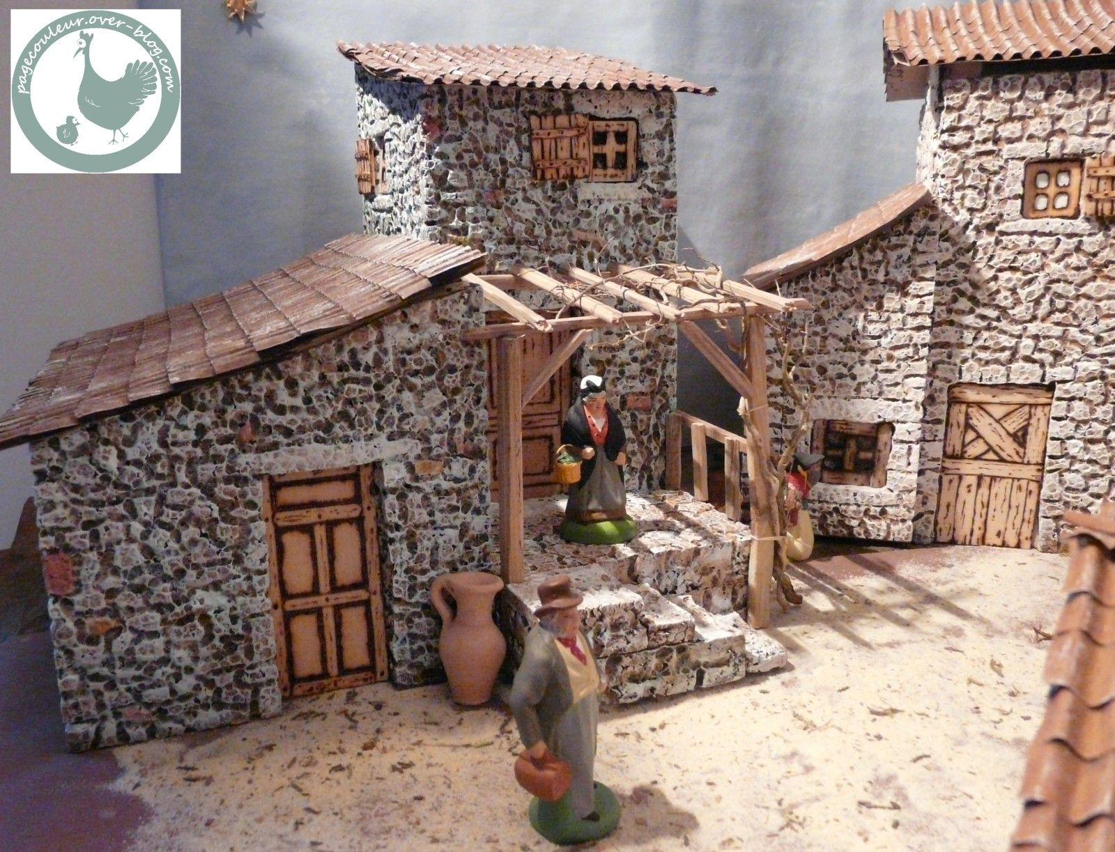 fabrication de maison pour creche de noel ventana blog