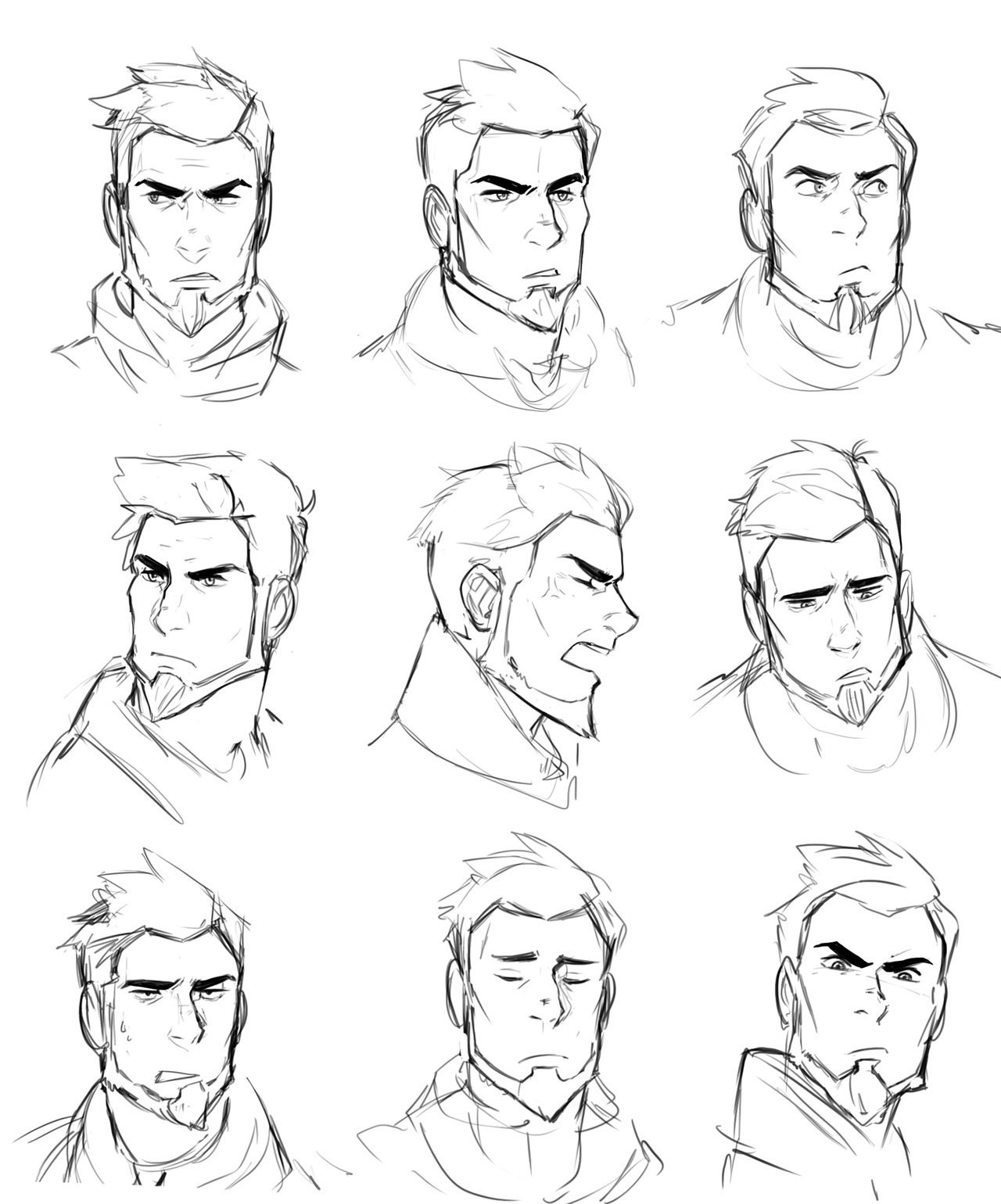 Dark Male Character Design Rugged Male Character Design Male Character Design Older Character Design Sketches Drawing Cartoon Faces Character Design Male