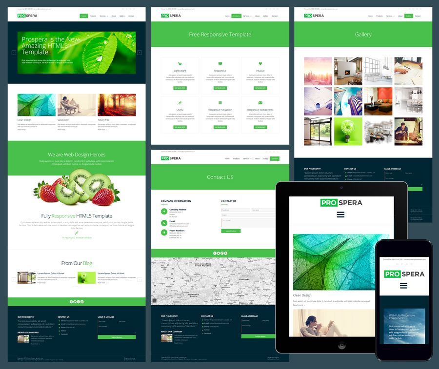12 free responsive business website templates cool template 12 free responsive business website templates cheaphphosting Images