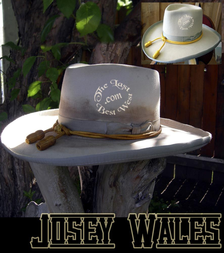 2b1a8e21c06c1 The Outlaw Josey Wales hat.  ClintEastwood