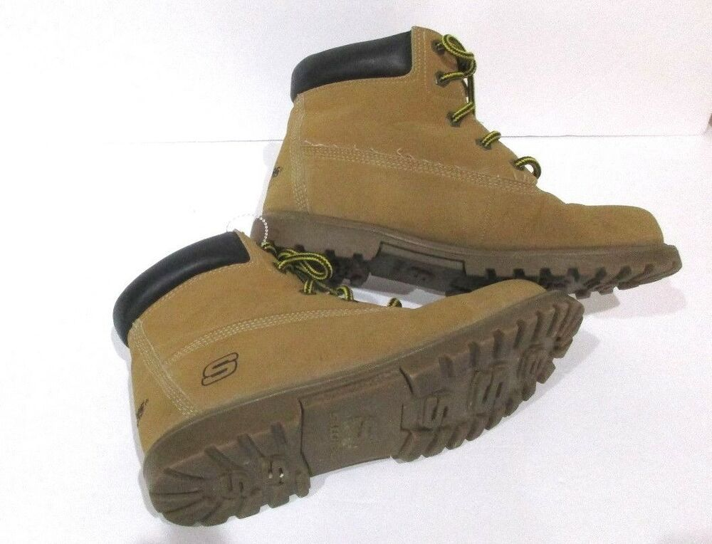 Skechers Above Ankle Work Hike Boots