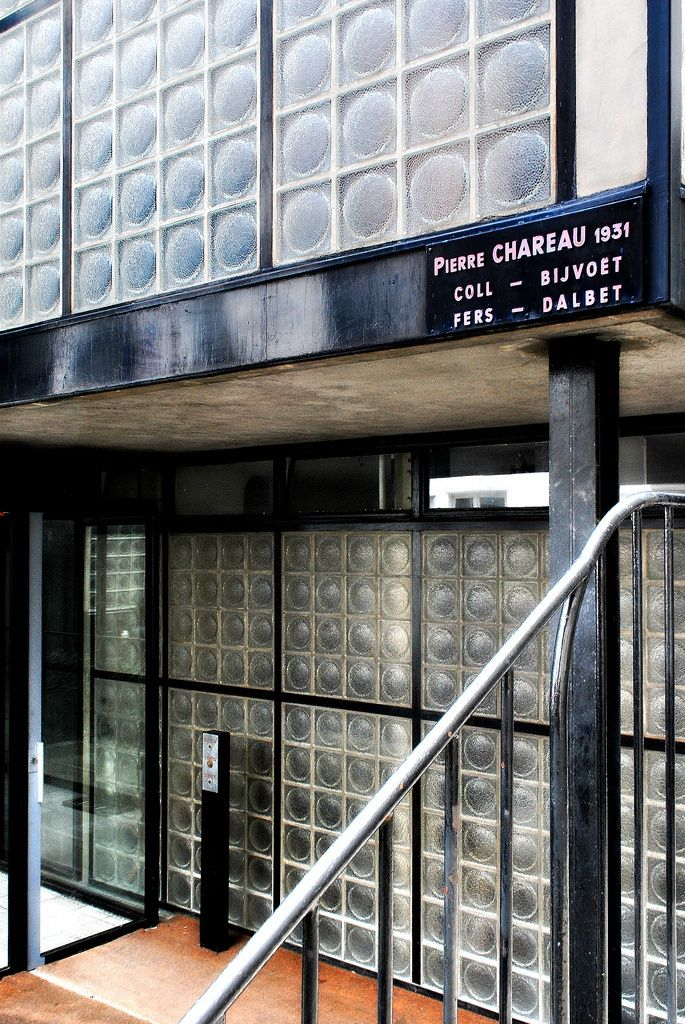 La maison de verre by pierre chareau 1928 1932 paris france