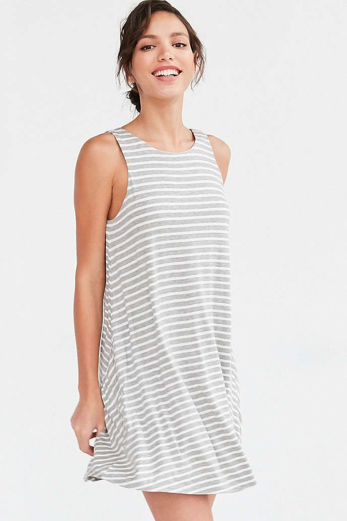 BDG Stripe Scoop Back Tank Dress - Urban Outfitters
