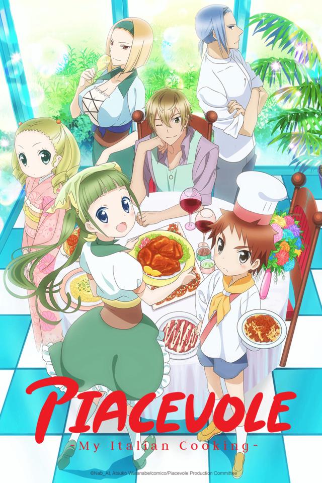 Crunchyroll Adds Piacevole To Winter Anime Season Anime Italian Cooking Upcoming Anime