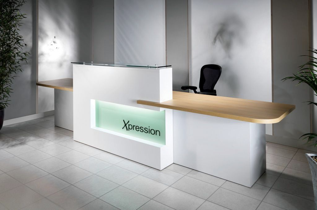 Evolution Xpression Reception Desk Range Is Aptly Named As It Has Been Designed To Give The User Freedom Express Themselves