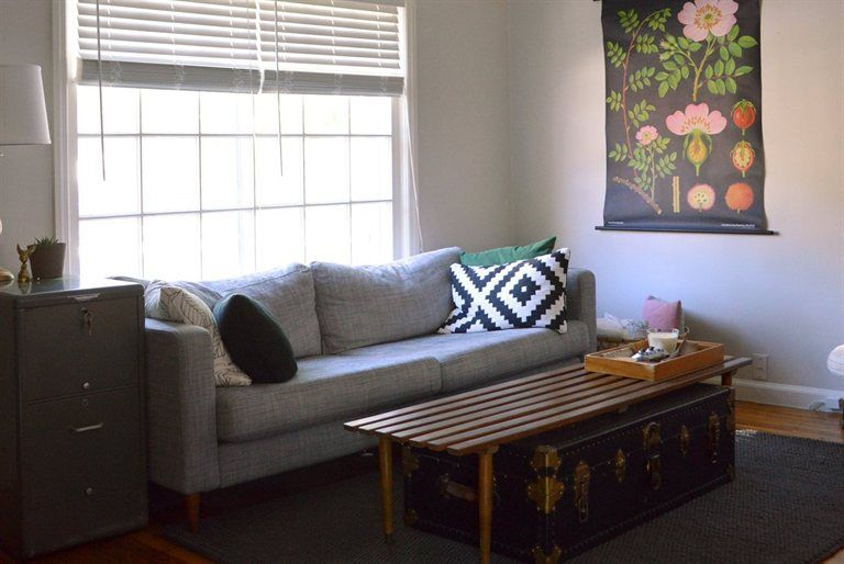 Mid century style living room   live from IKEA FAMILY