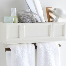 plug 'n style hair accessories organizer | bathroom