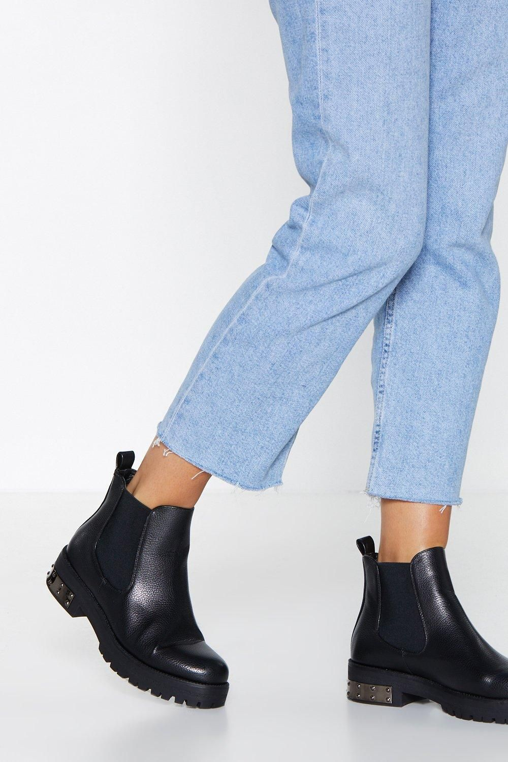 Heavy Metal Machine Chelsea Boot | Shop Clothes at Nasty Gal