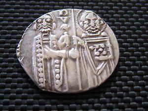 Medieval Silver Venetian Grosh Matapan Very Rare Silver Coin