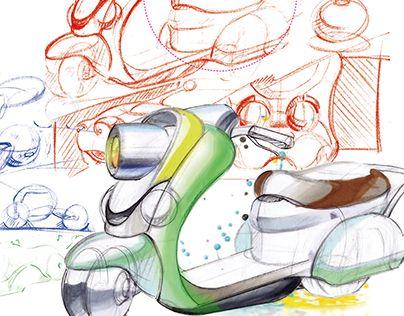 "Check out new work on my @Behance portfolio: ""bike sketch"" http://be.net/gallery/36433943/bike-sketch"