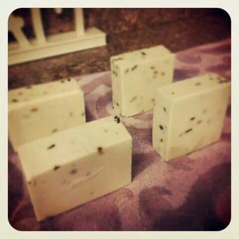 Handmade soap olive oil, lavander herbal