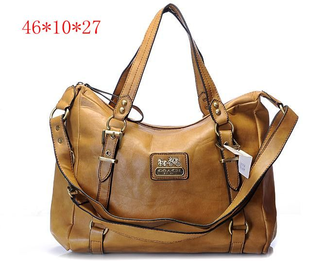 New Coach Madison Signature Metallic Shoulder Bag Brown 0356 54 41 Outlet Canada Online