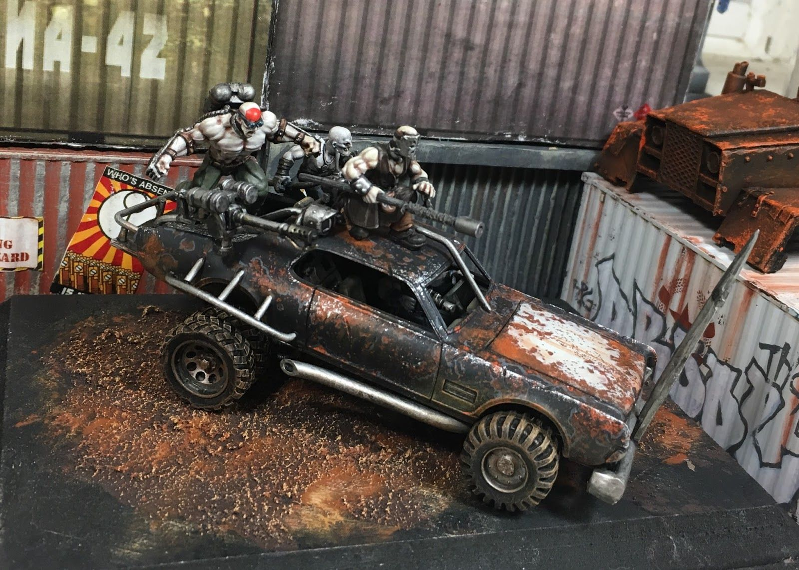 The Tau of War The Weaponized Cars of the Post Apocalypse