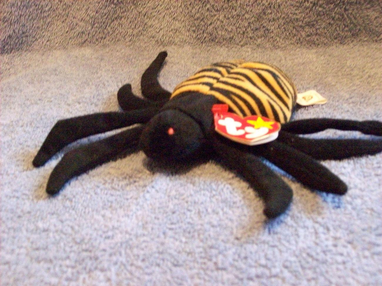 826217ebc2d Spinner The Spider Ty Beanie Baby 4th Gen Tag Retired  Dena Aksel ~  JDsGiftShack