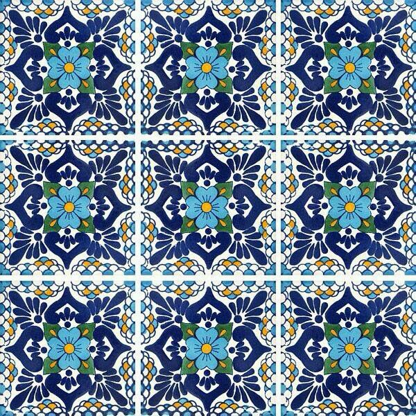Imprimibles azulejos miniatura imprimibles pinterest for Azulejos mexico