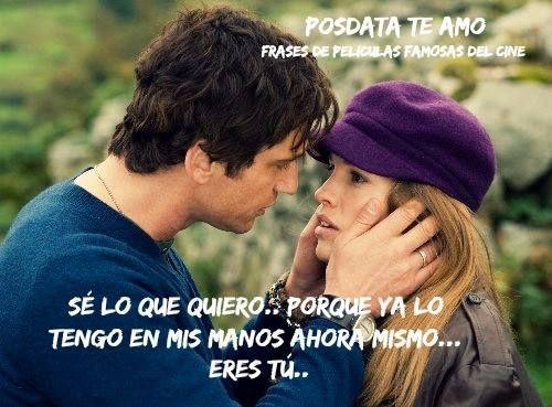 99 Frases De Peliculas Famosas Del Cine Frase De Amor Pinterest